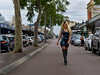 Zoe Lovage : The lovely Zoe Lovage  from ZoeLovage.com wandering the streets of Leederville in latex.